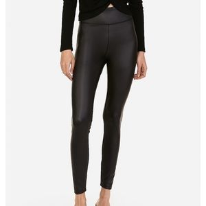 NWT Express Vegan Leather Leggings
